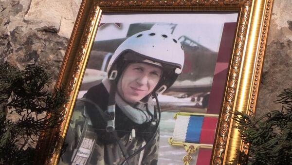 Así inmortalizaron el nombre del héroe ruso fallecido en Siria - Sputnik Mundo