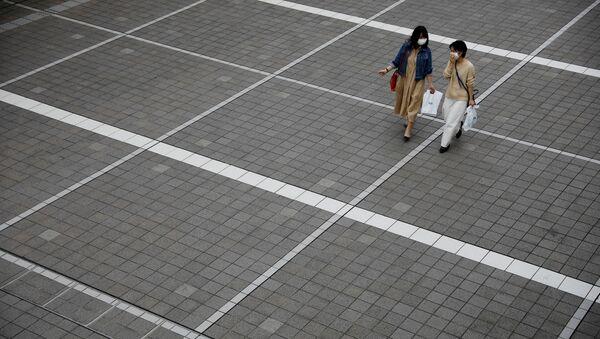 Una calle de Tokio - Sputnik Mundo