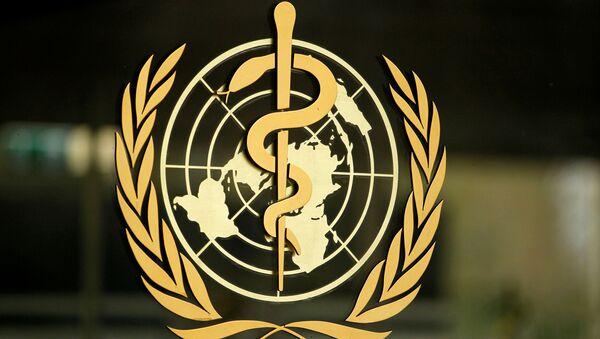 El logo de la Organización Mundial de la Salud - Sputnik Mundo