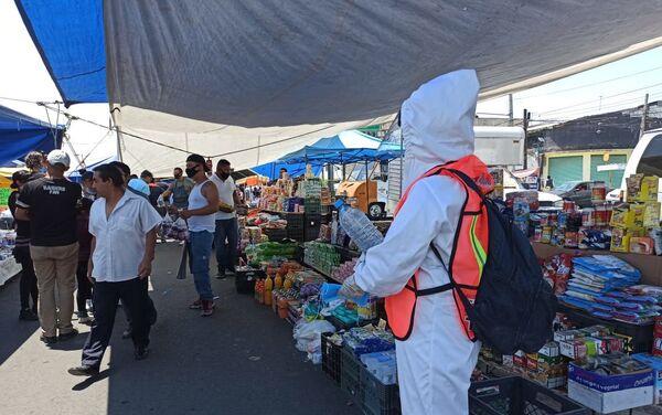 La alcaldía Itzapalapa durante de pandemia de COVID-19, Ciudad de México - Sputnik Mundo