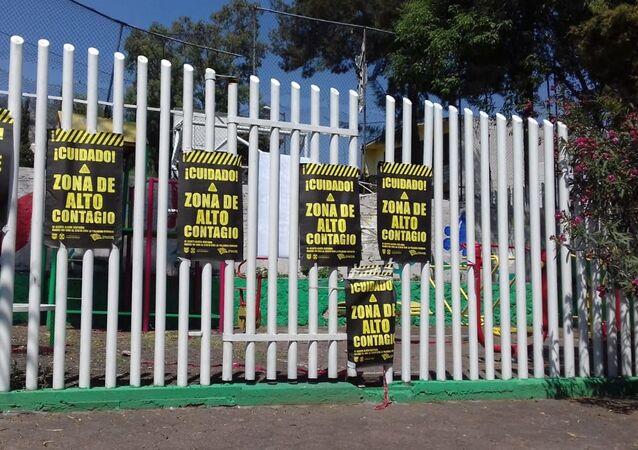 La alcaldía Itzapalapa durante la pandemia de COVID-19, Ciudad de México