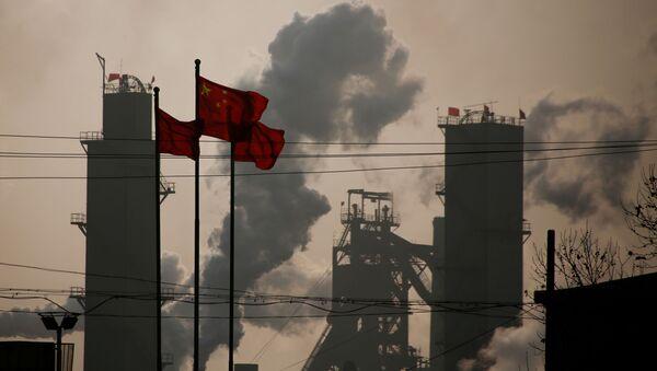 Una fábrica de acero en Wuhan - Sputnik Mundo