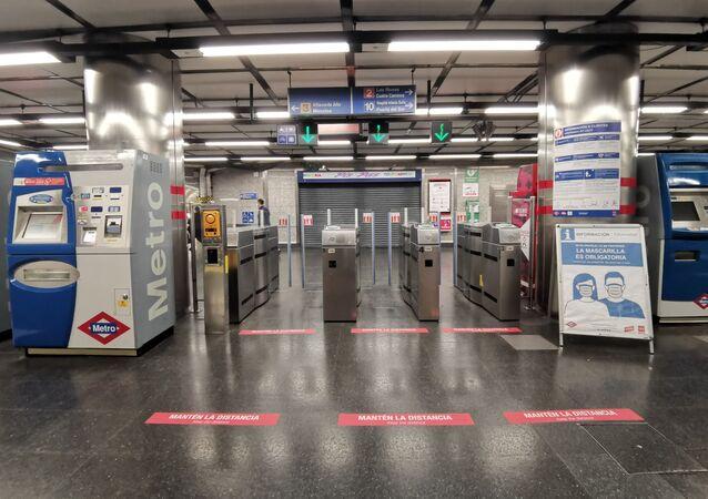Metro de Madrid se prepara para la desescalada