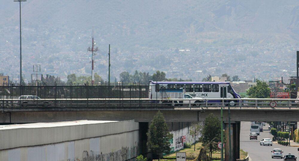 Contaminación en Cuidad de México