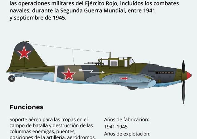 Il-2: el legendario tanque volador soviético
