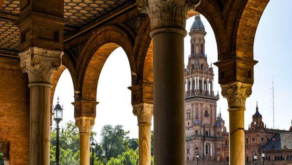 Plaza de España en Sevilla - Sputnik Mundo