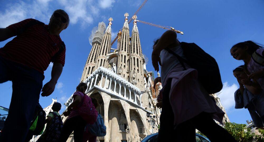 La construcción de la Sagrada Familia de Barcelona