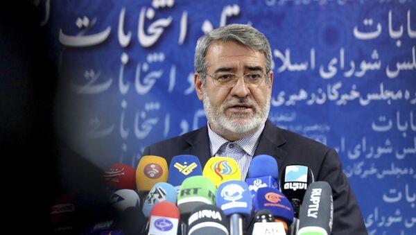 Abdolreza Rahmani Fazlí, ministro del Interior iraní - Sputnik Mundo