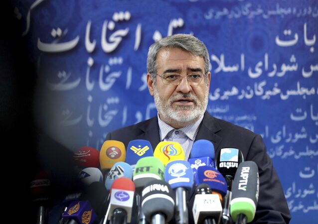 Abdolreza Rahmani Fazlí, ministro del Interior iraní