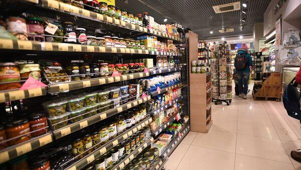 Un supermercado de la red de Ázbuka vkusa - Sputnik Mundo