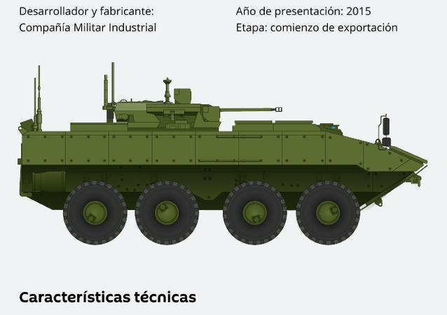 Bumerang: así es el transporte blindado ruso de última generación