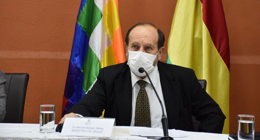 Marcelo Navajas, ministro de Salud de Bolivia