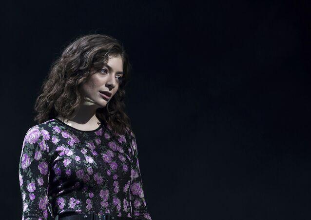 Lorde, la cantante neozelandesa