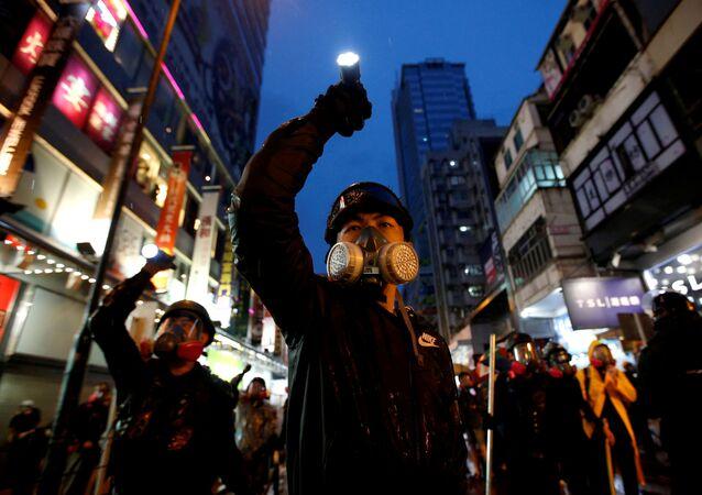 Protestas conra la Ley de extradición en Hong Kong (archivo)
