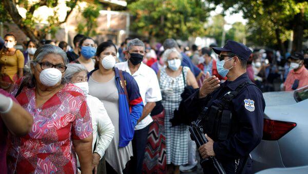 El coronavirus en El Salvador - Sputnik Mundo