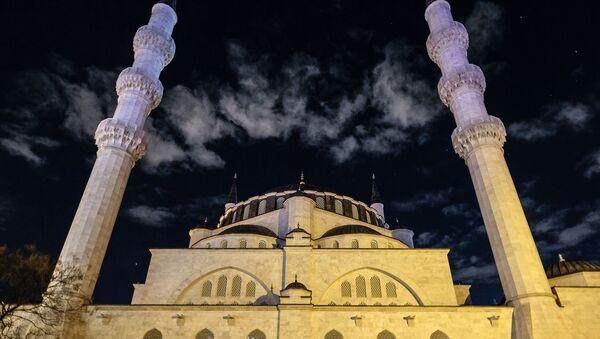 Una mezquita turca, referencial - Sputnik Mundo