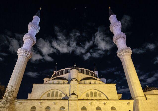 Una mezquita turca, referencial