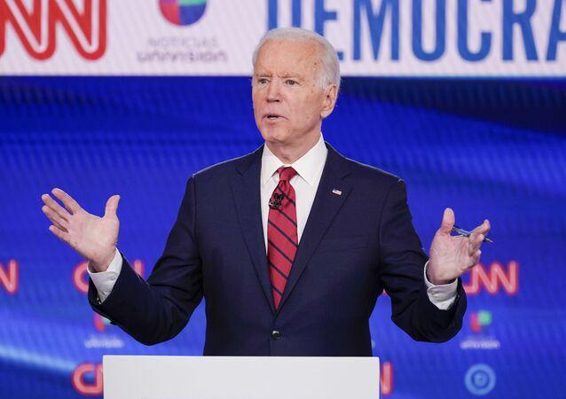 Exvicepresidente estadounidense, Joe Biden