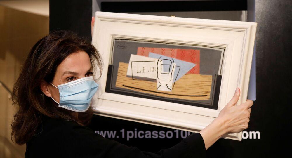 El cuadro de Picasso que participó en la lotería
