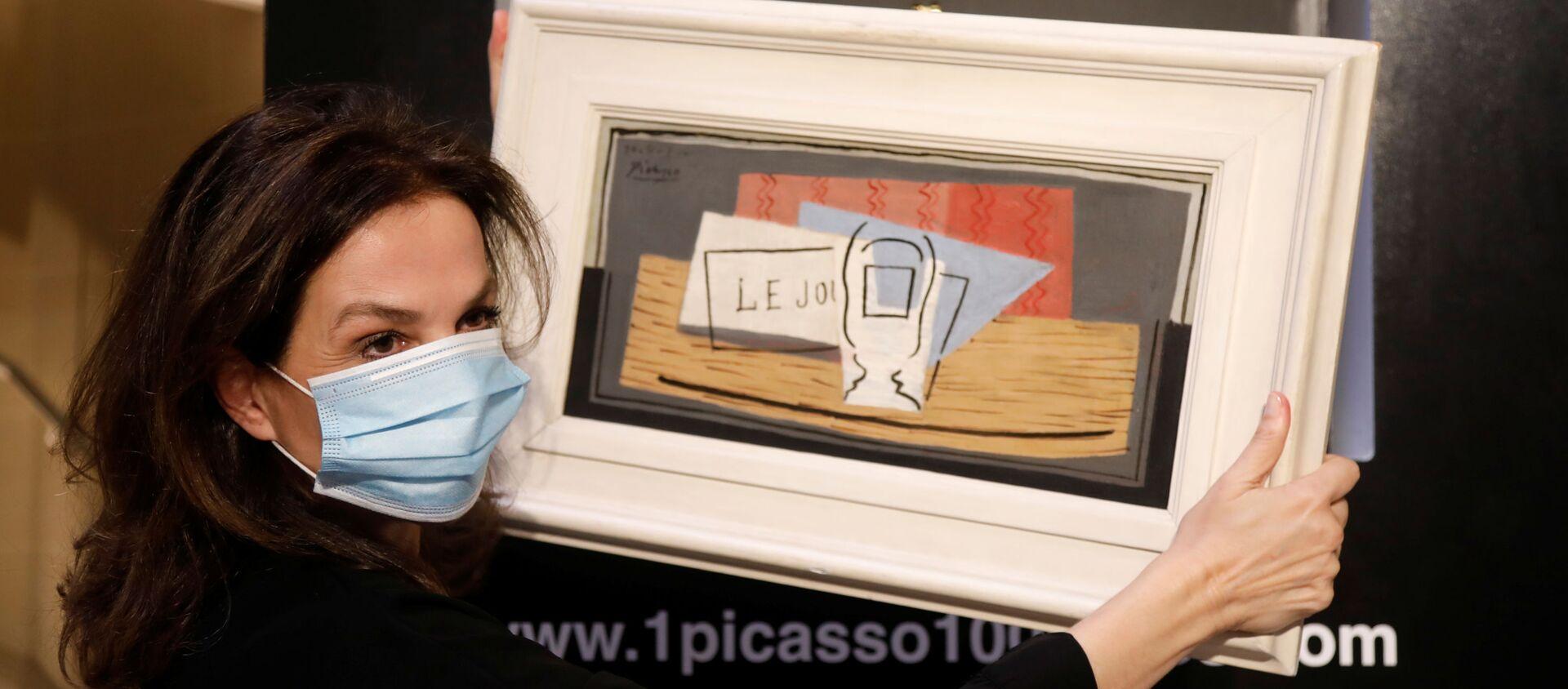 El cuadro de Picasso que participó en la lotería - Sputnik Mundo, 1920, 21.05.2020