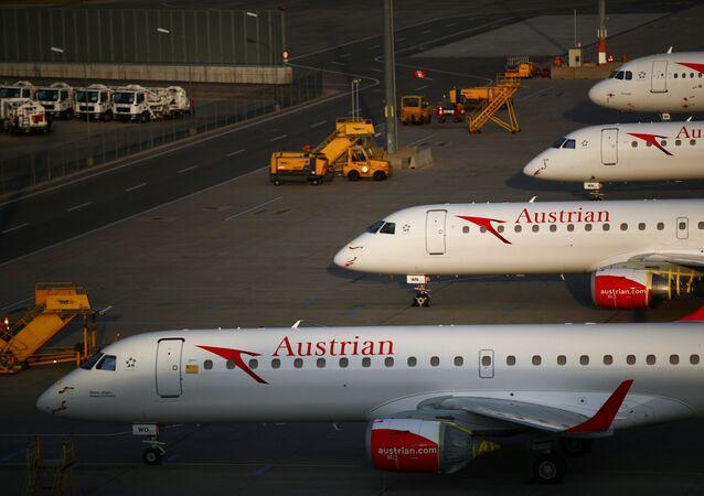 Aeronaves en el aeropuerto de Viena