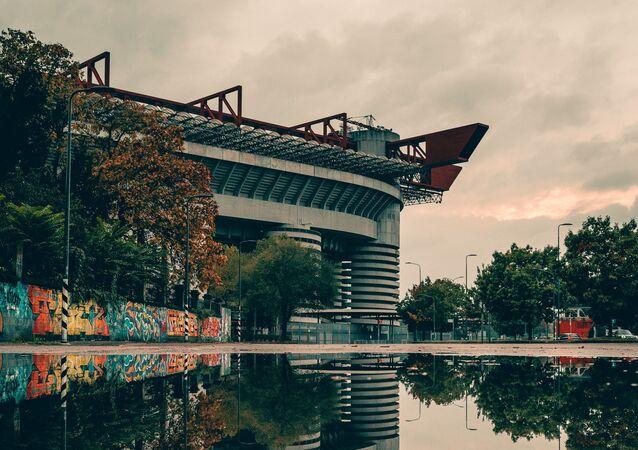 El estadio de San Siro de Milán