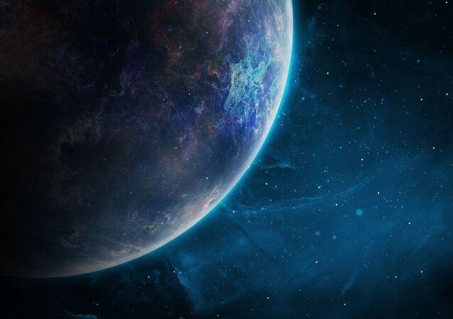 Un planeta. Imagen referencial