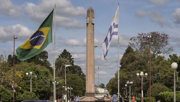 Frontera entre Brasil y Uruguay - Sputnik Mundo