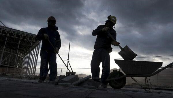Trabajos de construcción (imagen referencial) - Sputnik Mundo