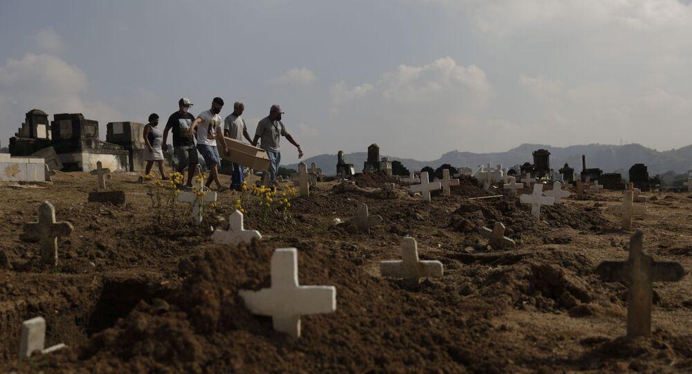 Cementerio en Río de Janeiro, Brasil