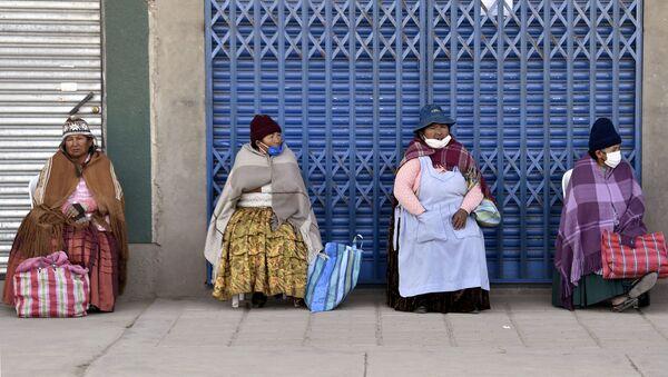 Mujeres indígenas en El Alto, Bolivia - Sputnik Mundo