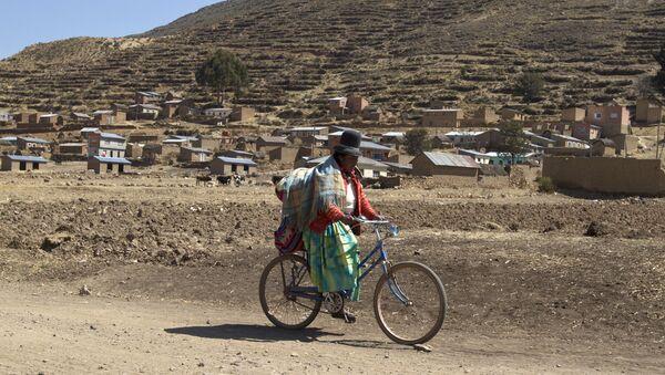 Una mujer boliviana  - Sputnik Mundo