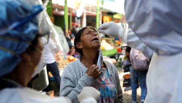 Test de coronavirus en Guatemala - Sputnik Mundo