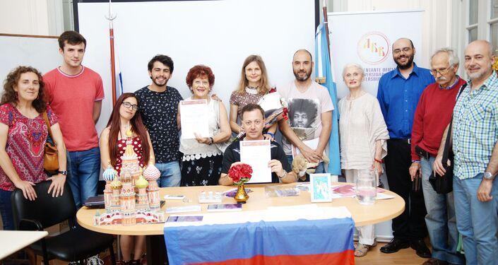 Catedra de Rusia del IRI de la UNLP, Cursos Oficiales de Ruso