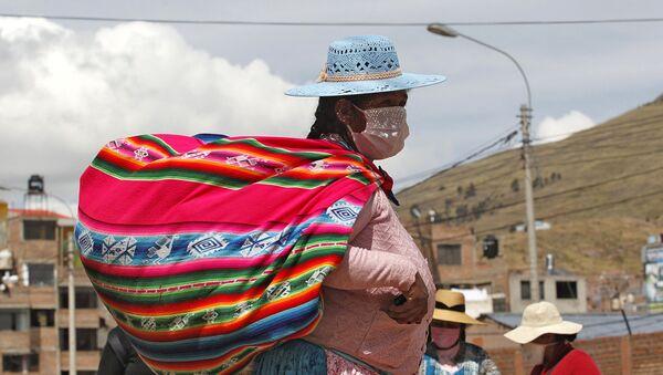 Una mujer indígena en Perú - Sputnik Mundo