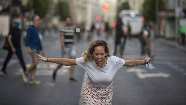Madrid desconfinamiento - Sputnik Mundo