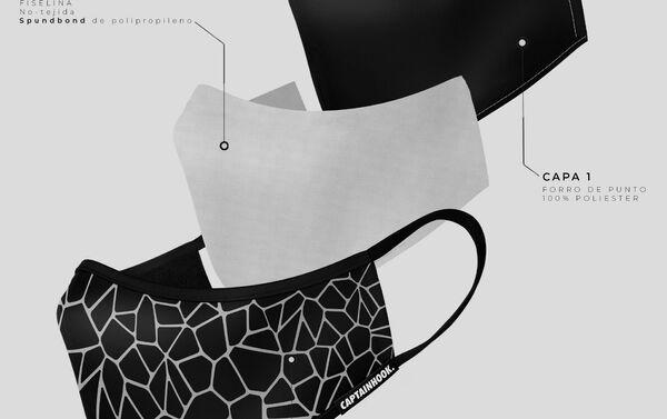 Mascarillas diseñadas por CaptainHook - Sputnik Mundo