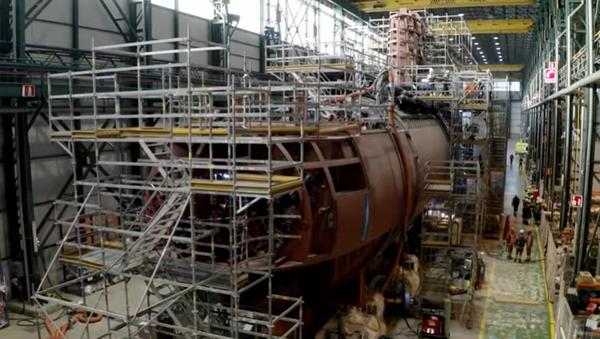 Submarino S-80 en construcción - Sputnik Mundo
