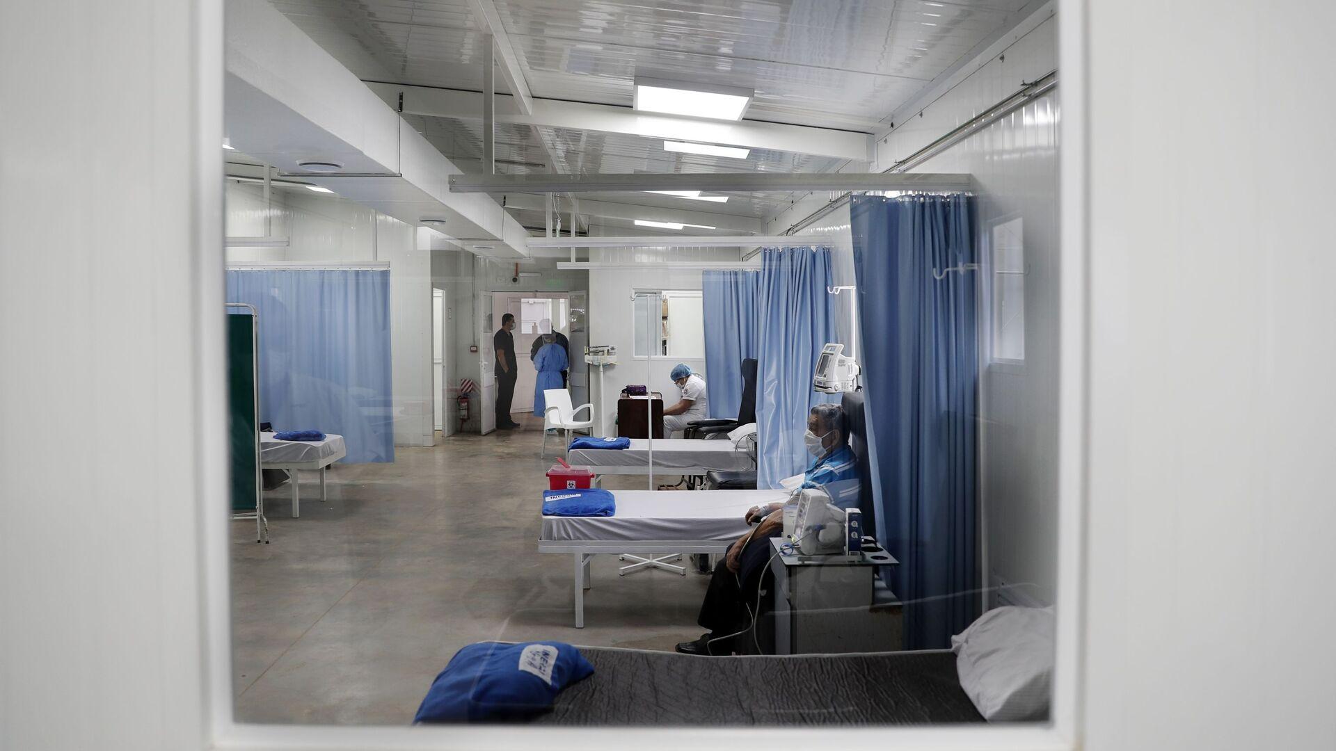 Un hospital para los pacientes con enfermedades respiratorias en Asunción, Paraguay - Sputnik Mundo, 1920, 21.03.2021