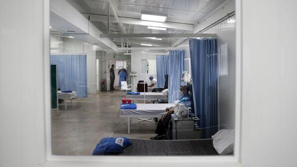 Un hospital para los pacientes con enfermedades respiratorias en Asunción, Paraguay - Sputnik Mundo