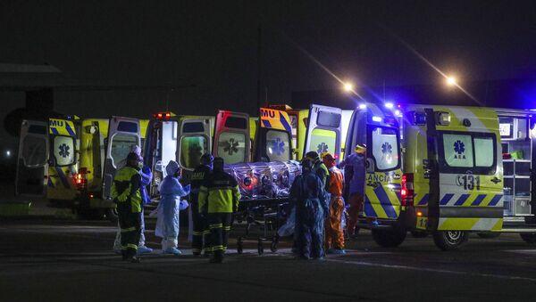 Ambulancias en Chile - Sputnik Mundo