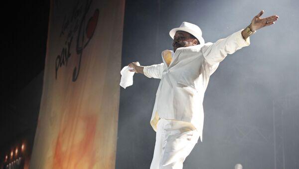 El cantante guineano Mory Kanté - Sputnik Mundo