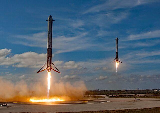 El cohete Falcon Heavy