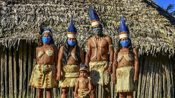 Indígenas colombianos - Sputnik Mundo