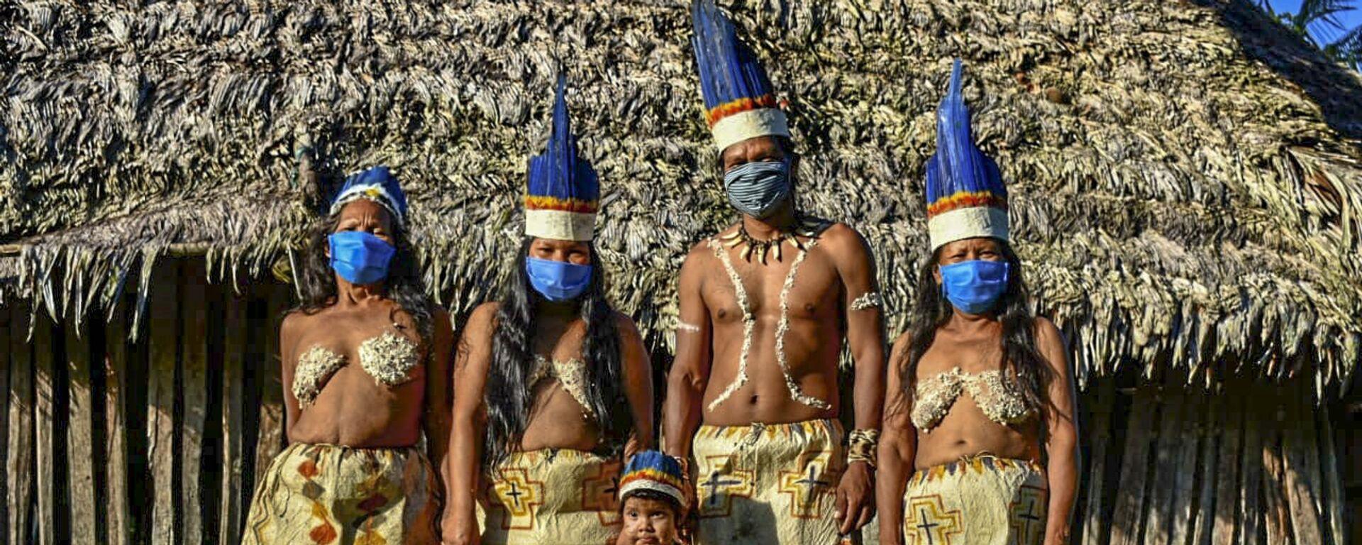 Indígenas colombianos - Sputnik Mundo, 1920, 21.04.2021