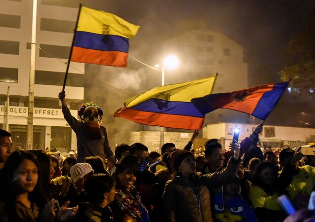 Protestas en Quito, Ecuador (archivo)