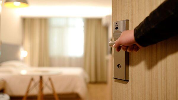 La habitación de un hotel (imagen referencial) - Sputnik Mundo