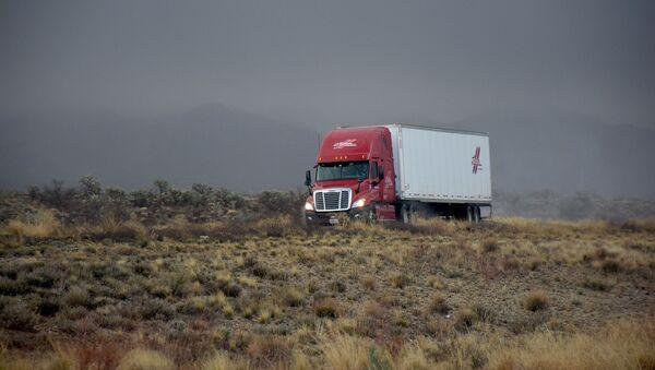 Un camión (imagen referencial) - Sputnik Mundo