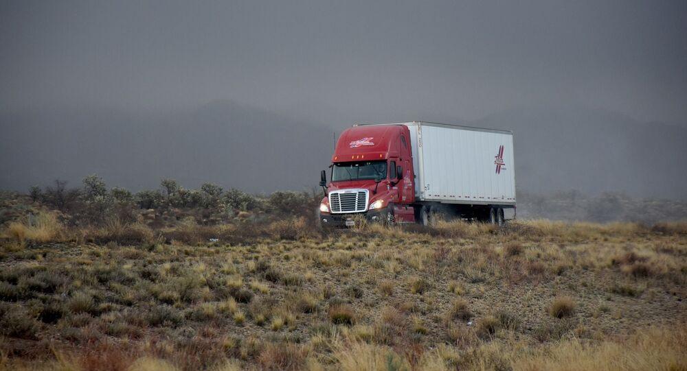 Un camión (imagen referencial)
