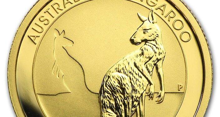 La moneda australiana Canguro